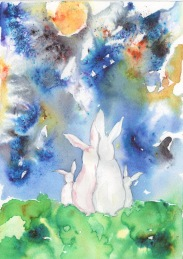 Rabbit family, the cosmos